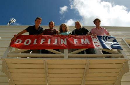 Zes jaar Dolfijn FM: feel good-radio