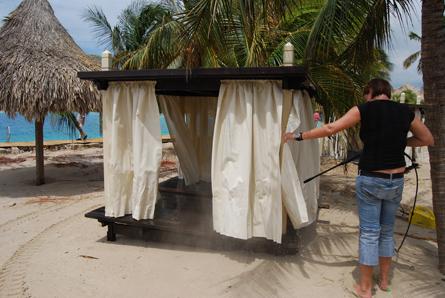 Curaçao herstelt stranden