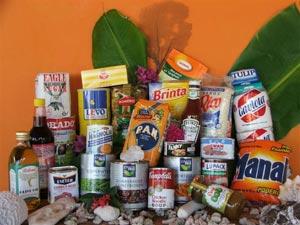 Voedselbank Voorbeeldpakket
