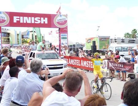 Contador finish