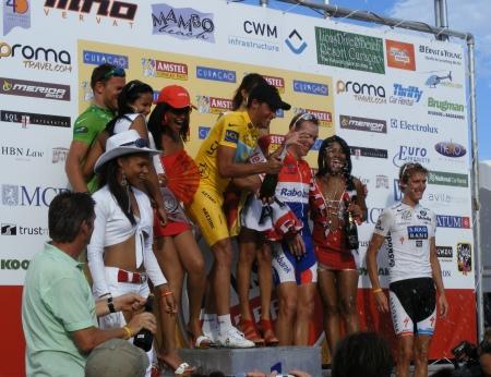 Erepodium Amstel Curaçao Race