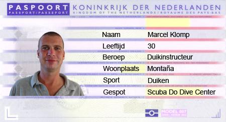 paspoort Marcel Klomp