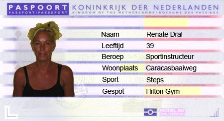 Paspoort Renate Dral