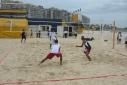 strand spelen beachvolleybal