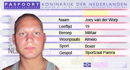 Passpoort vers zweet Joey