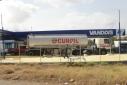 Drukte bij benzinepompen