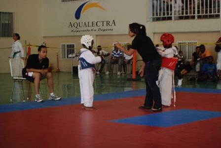 Tae Kwon Do wedstrijd