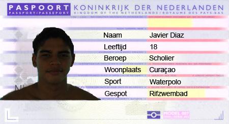 Paspoort Javier Diaz