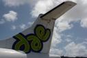 Versgeperst.com vlucht vliegtuigmaatschappij versgeperst.com Sint maarten NIEUWS geannuleerd falliet dutch caribbean airlines dae Curaçao  DAE vleugel