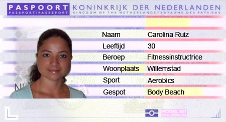 Paspoort Carolina Ruiz
