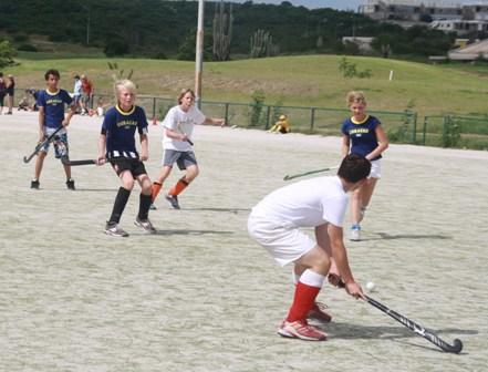 Curacao Sport - Jeugd hockeyinterland