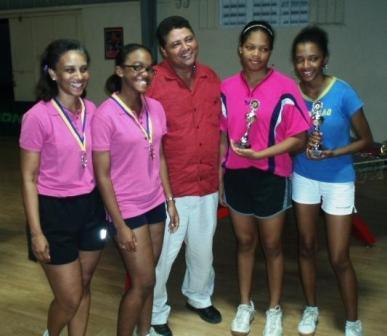 Curacao Sport - Dames tafeltennis dubbel
