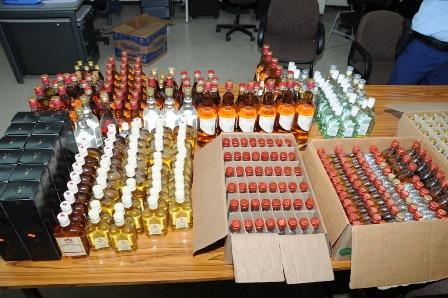 Curacao Nieuws - Alcohol in beslag genomen