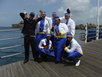 Versgeperst.com zilver tweede team taste of caribbean miami koken Curaçao culinairy culinair 2011  culinairy team 2011 417x313