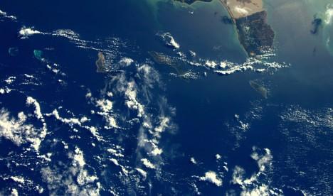 Versgeperst.com Versgeperst Twitter ruimte NIEUWS foto Curaçao Andre Kuipers  Ruimtefoto 468x276