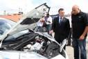 Eerste elektrische auto op Curaçao aangekomen