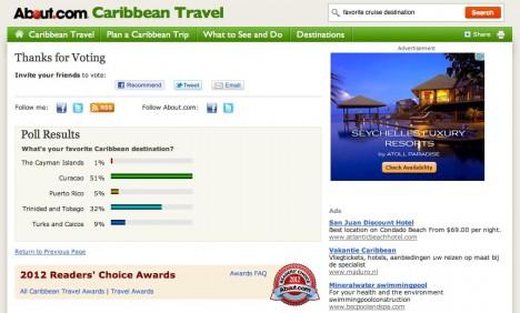 Versgeperst.com Versgeperst Readers Choice Award poll LIFESTYLE Curaçao about.com  about 468x282