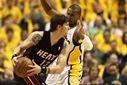 Foto ANP: Indiana Pacers - Miami Heat