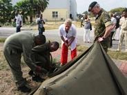 Versgeperst.com Versgeperst Rijksminister NIEUWS Marinekazerne Suffisant Jeanine Hennis Plasschaert Defensie Curaçao  Foto in tekst