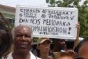 Protest gepensioneerden