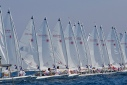 starting line ISAF Youth Worlds