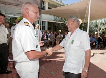 Veteranendag en uitreiking Nieuw Guinea medaille
