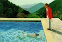 David Hockney artwork pool
