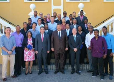 RvM kabinet-Asjes ontvangt honkballers 2