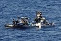 marine arrestatie smokkelaars