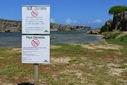 waarschuwingsbord schildpadden