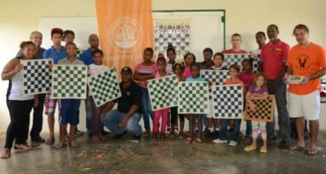 curacao chess academy groepsfoto
