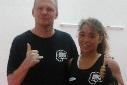 Chellina Chirino met Edwin Baas
