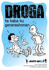 Versgeperst.com Versgeperst NIEUWS justgo4it interview henk kempers drugs Curaçao  Drugs Awareness Poster4