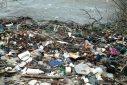 Afval in Sint Jorisbaai