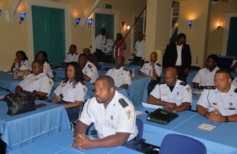 Security Training politie veiligheid