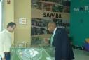 Visit of Minister Balborda Dec 19 2014
