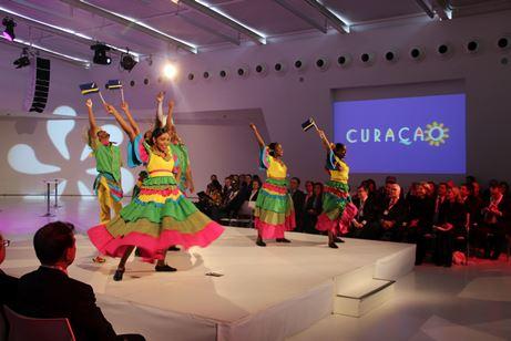 Openingsshow gastland Curaçao